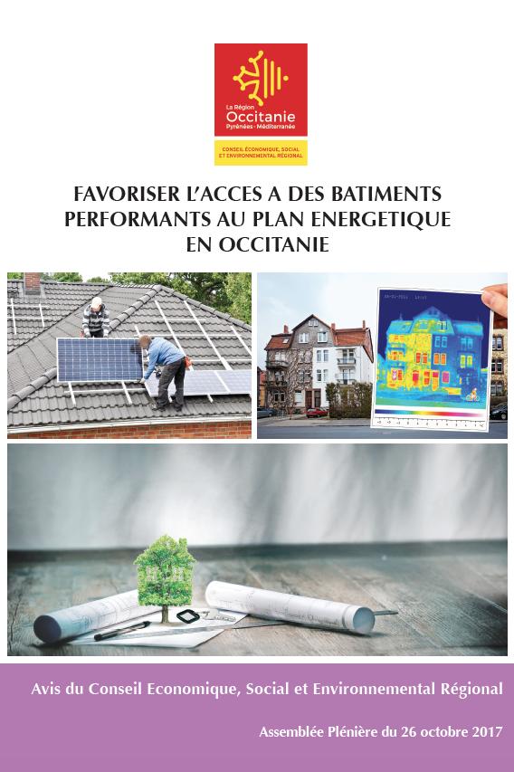 Avis – Favoriser l'accès à des bâtiments performants au plan énergétique en Occitanie