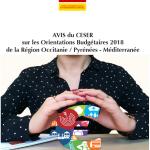 Occitanie - CESER - assemblée plénière -Orientations Budgétaires