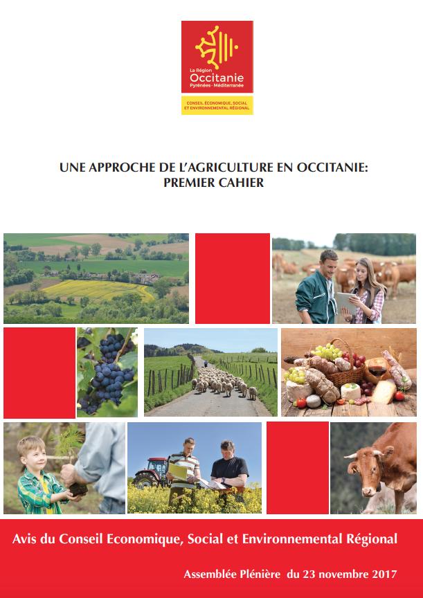 Avis – Une approche de l'agriculture en Occitanie: 1er cahier