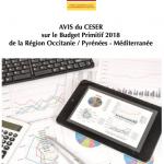 Occitanie - CESER - Assemblée plénière - Budget primitif 2018