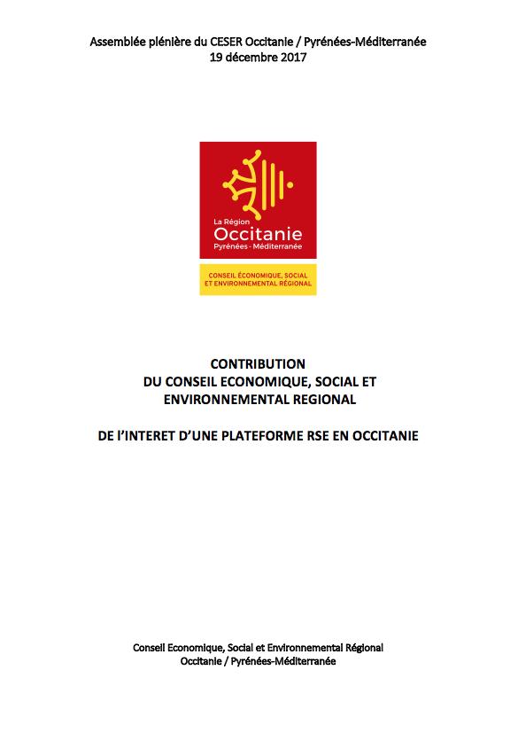 Contribution – Responsabilité Sociale des Entreprises (RSE)