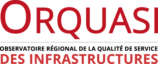 Orquasi - Observatoire régional de la qualité de service des infrastructures