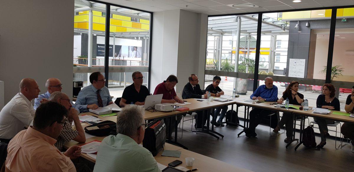 Comité syndical inter-régional à Perpignan avec le CESER de Catalogne