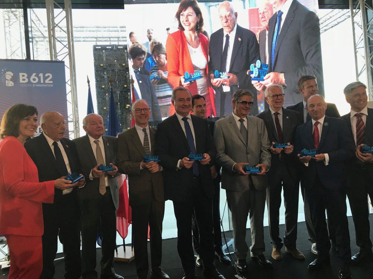 L'Institut de Recherche Technologique Saint-Exupéry à l'honneur lors de l'inauguration du B612, Centre d'innovation aéronautique et spatiale