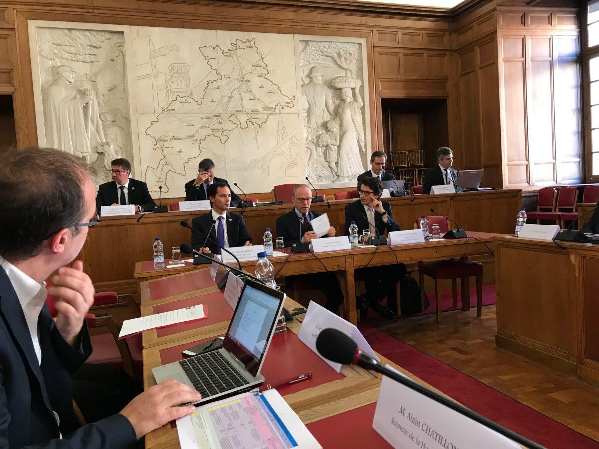 Jean-Louis Chauzy invité par le Préfet de région Occitanie sur le Programme Investissement d'Avenir (PIA3) à la Préfecture de région