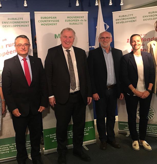 Un Vice-président du CESER à Bruxelles pour la signature d'un manifeste pour un agenda rural !