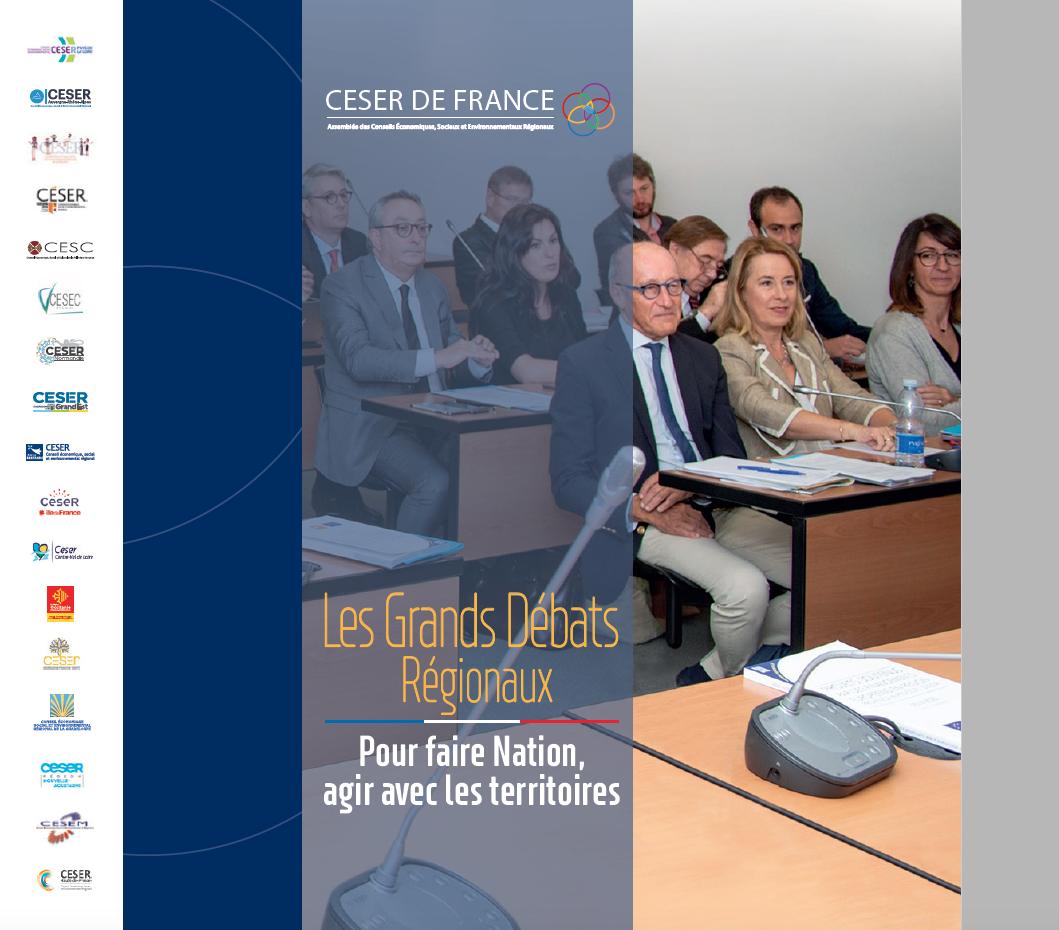 CONTRIBUTION DU CESER DE FRANCE AU GRAND DÉBAT NATIONAL – Les grands débats régionaux
