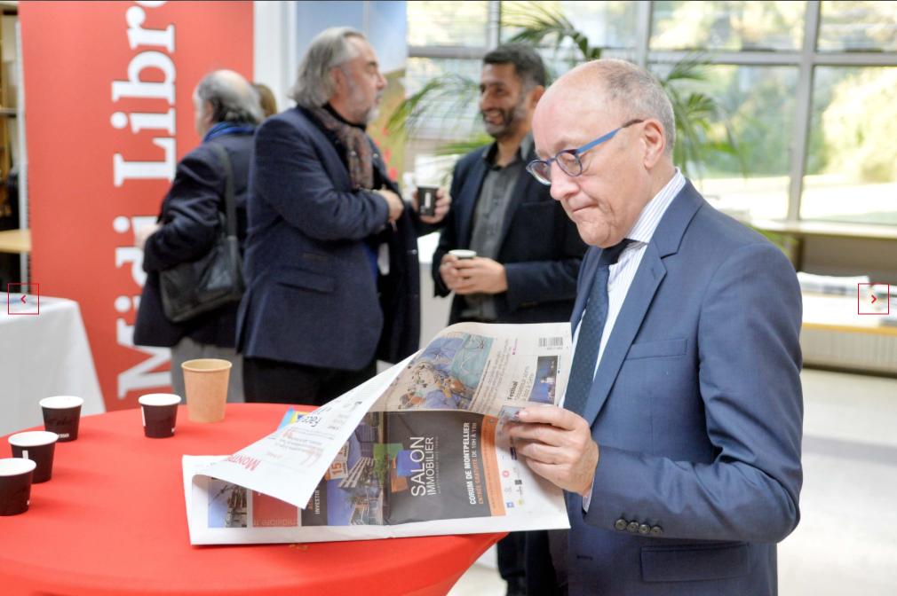 Jean-Louis CHAUZY invité à la 22ème édition des Rencontres d'Occitanie  avec Yves SAINT-GEOURS  Ambassadeur de France en Espagne