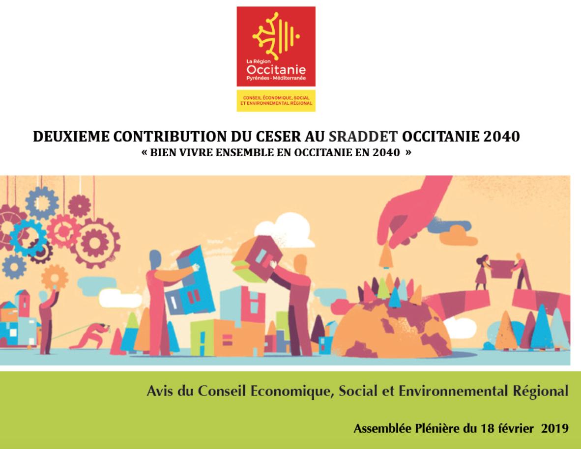 Avis – 2ème CONTRIBUTION AU SRADDET OCCITANIE 2040 « Bien vivre ensemble en Occitanie en 2040»