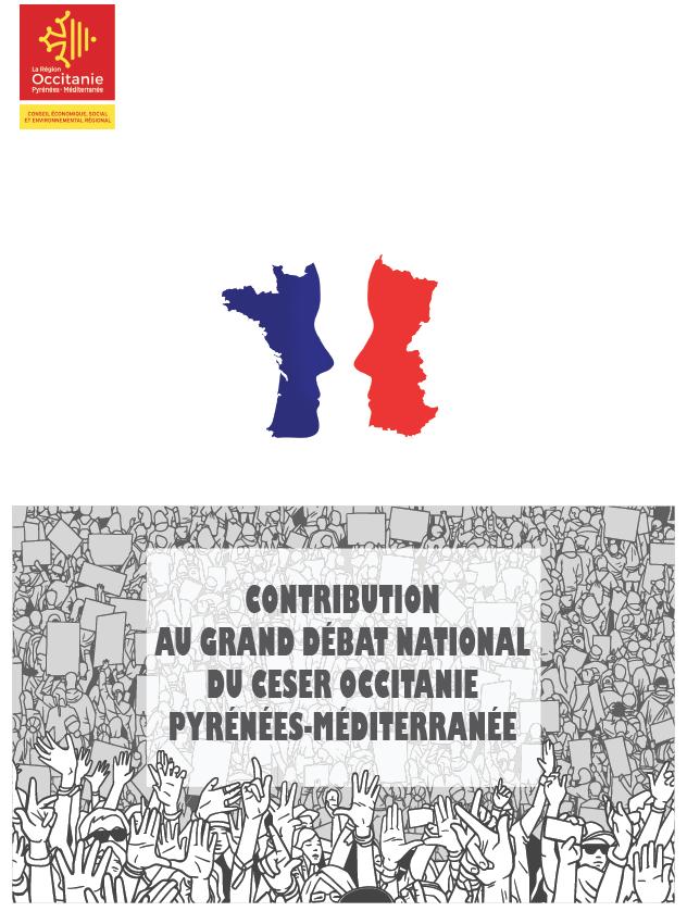 CONTRIBUTION DU CESER OCCITANIE / PYRÉNÉES-MÉDITERRANÉE AU GRAND DÉBAT NATIONAL
